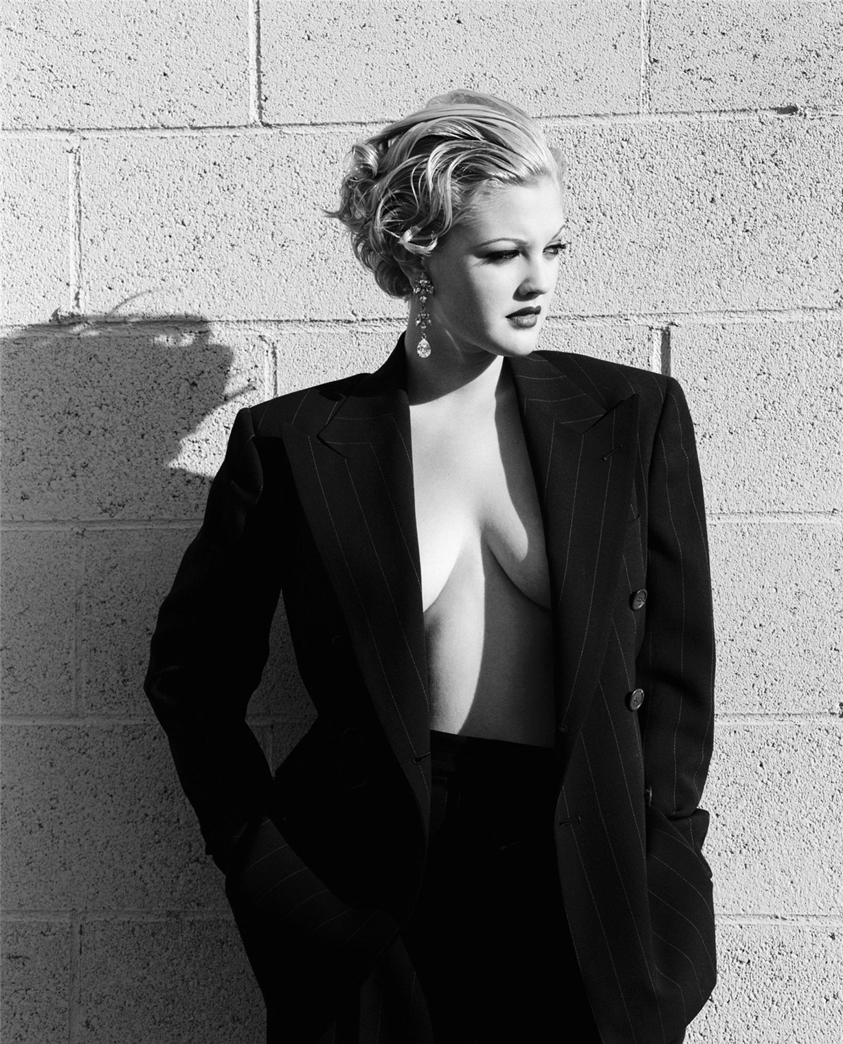 Drew Barrymore / Дрю Бэрримор - звезды Голливуда, фотограф Firooz Zahedi