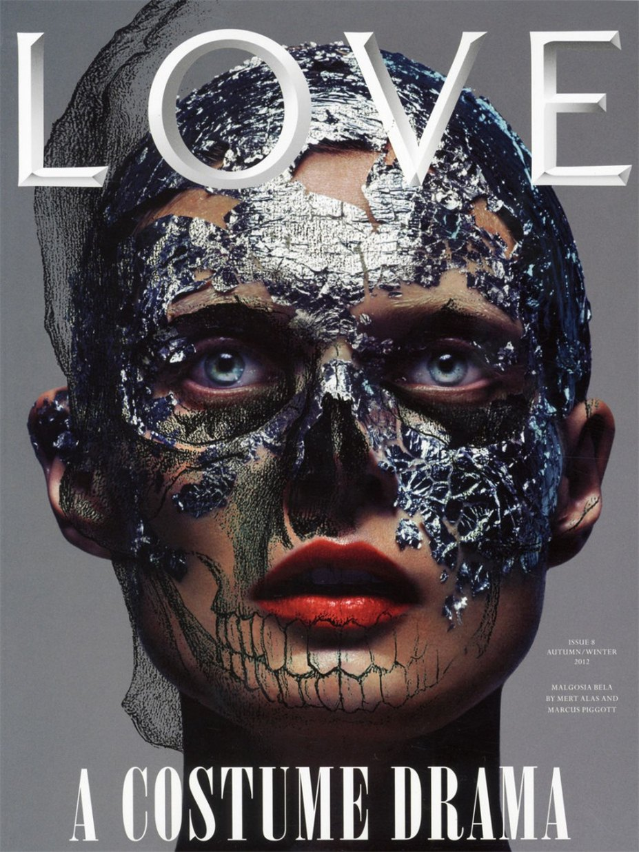 Малгозия Бела / Malgosia Bela - Fawnicate by Mert - Marcus in LOVE Magazine fall-winter 2012