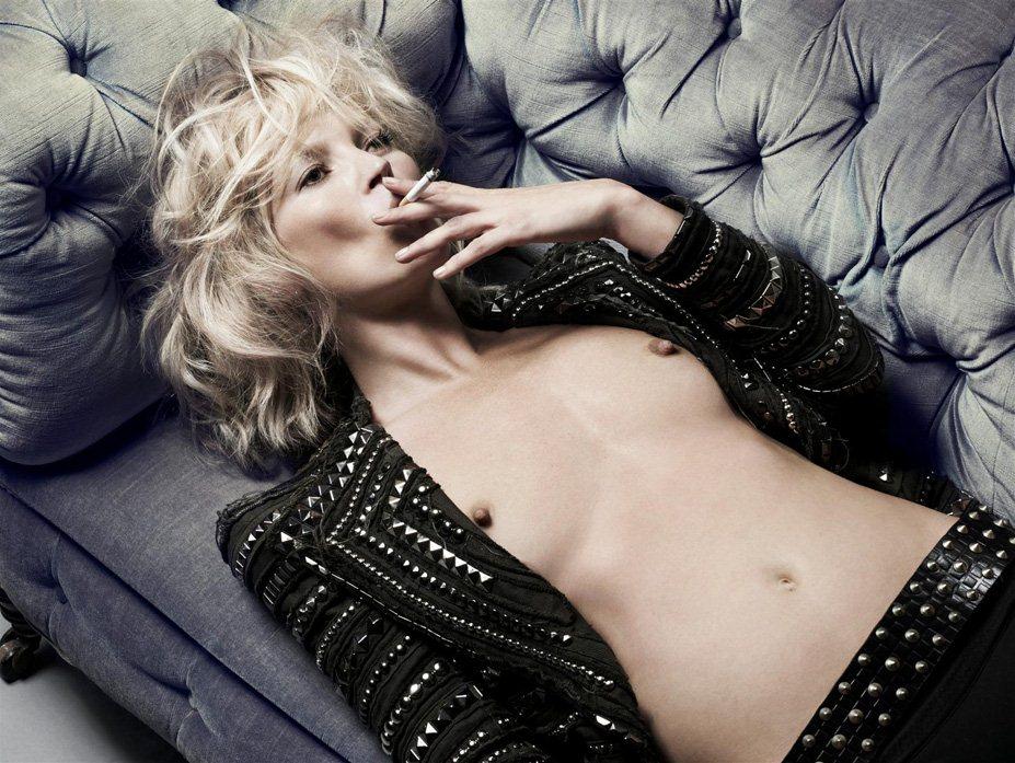 smoking Kate Moss / Кейт Мосс с сигаретой
