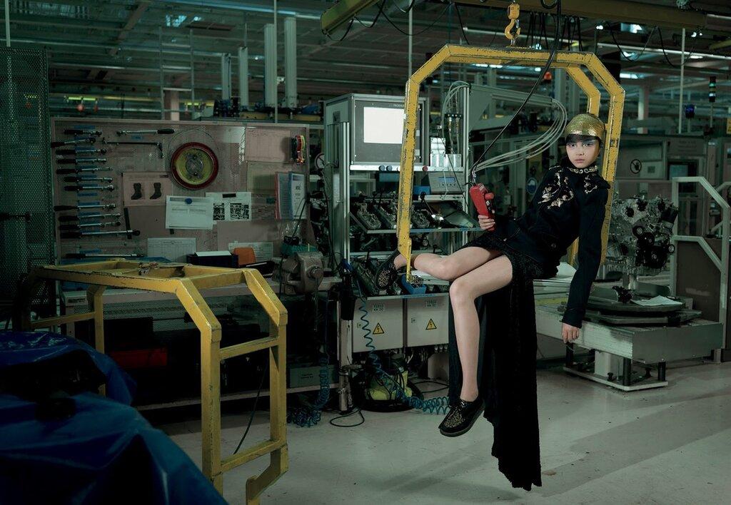 Мода на заводе