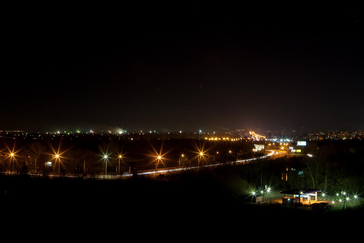 ночной брянск фото