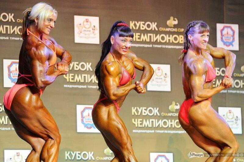 Международный турнир по бодибилдингу прошел в Москве
