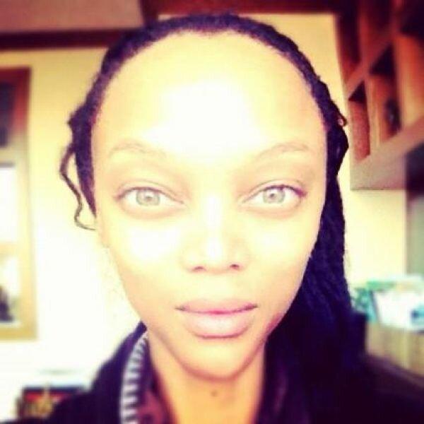 Тайра Бэнкс выглядит, как инопланетянка