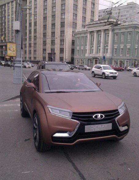 Уже на улицах Москвы!