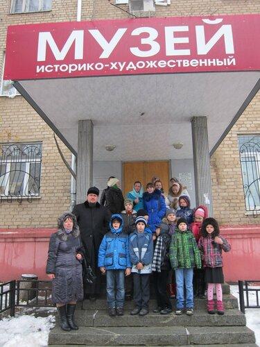 Пироговская воскресная школа в мытищинском музее