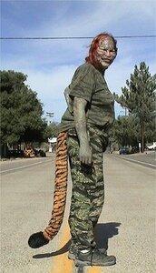 «Человек-тигр» покончил жизнь самоубийством