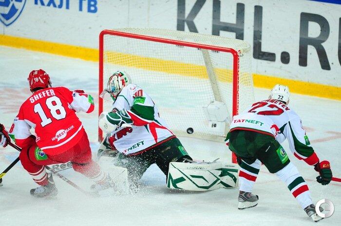 «Спартак» vs «Ак Барс» 1:3 чемпионат КХЛ 2012-2013 (Фото)