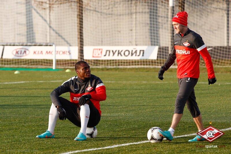 Тренировка «Спартака» перед дерби с «Динамо» (Фото)