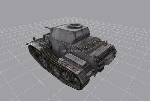 Легкий танк: PzKpfw II Ausf. J