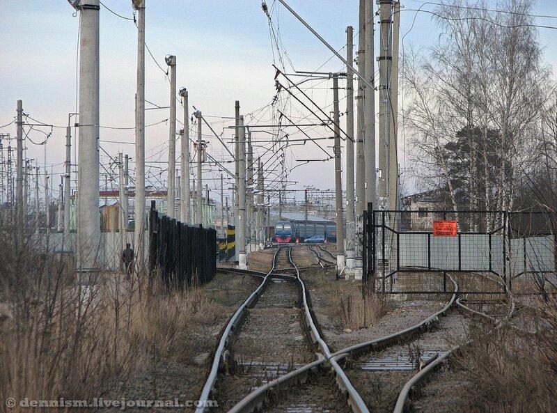 Пути моторвагонного депо Александров (ТЧ-12 МСК).