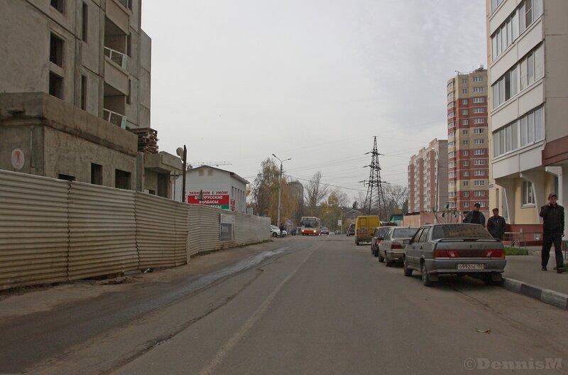Фрязино. Улица Горького (21-22 кварталы города Фрязино).