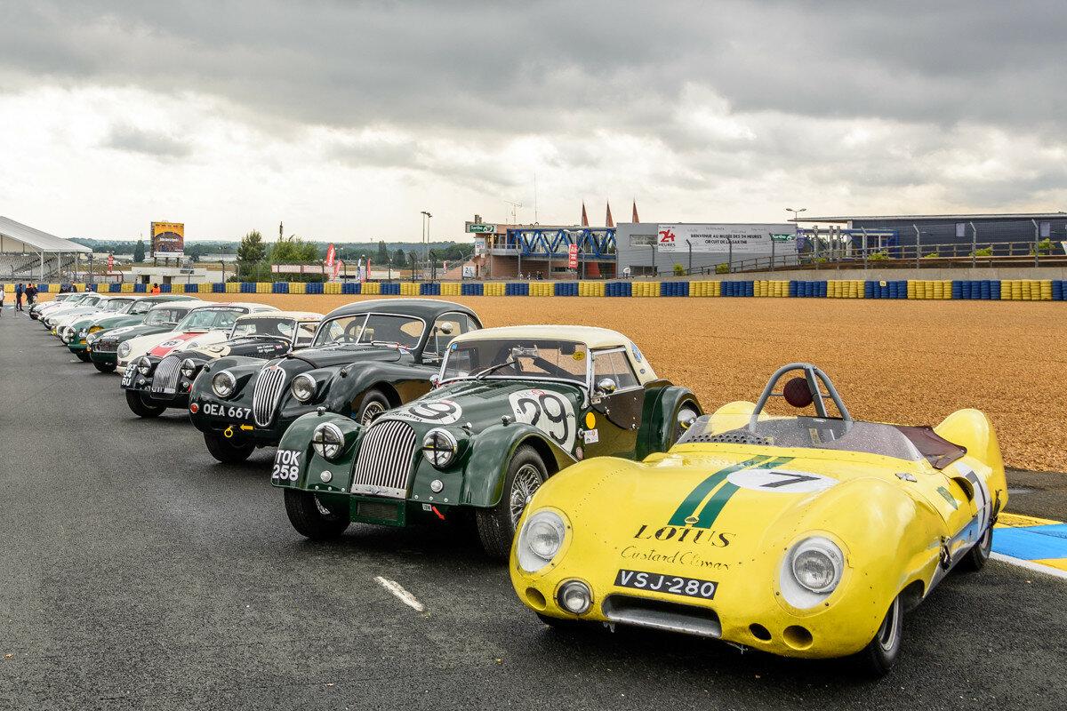 """Участники гонки """"Le Mans Legends"""""""