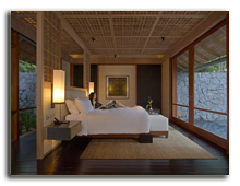 Малайзия. The Datai Langkawi. Beach Villa Bedroom
