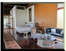 Малайзия. Лангкави. Four Seasons Resort Langkawi. Beach Villa bedroom