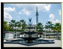 Малайзия. Куала-Лумпур. Masjid Negara - national mosque in Malaysia, Фото Segmed87 - Depositphotos