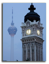 Малайзия. Куала-Лумпур. Фото donsimon - Depositphotos