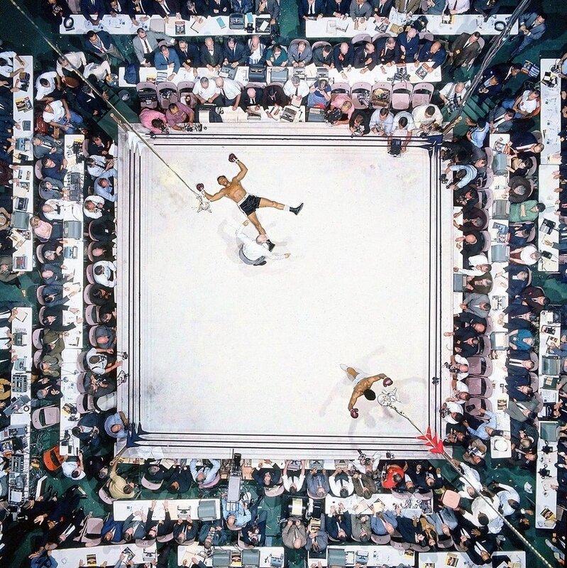 Бой Мухаммед Али - Кливленд Уильямс. 1966 год.