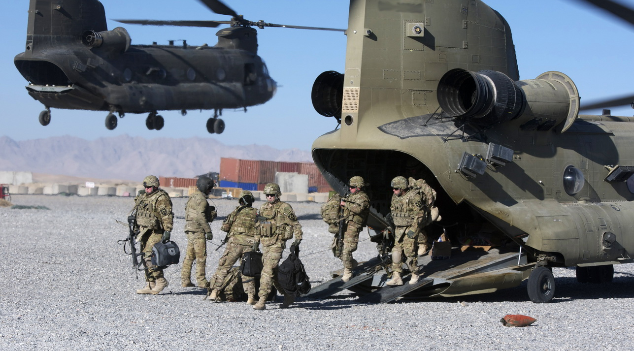 Arrowhead Brigade sets foot in Afghanistan