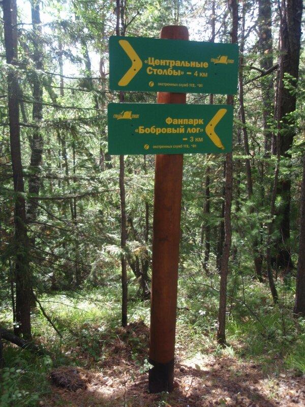 До Бобрового лога 3 киломметра