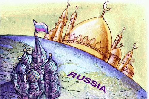 Россия - территория войны