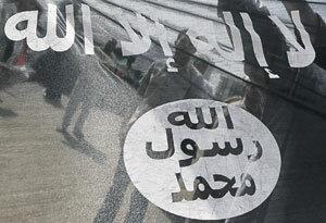 Знамя джихадистов в последнее время стало узнаваемым символом на Ближнем Востоке. Фото Reuters