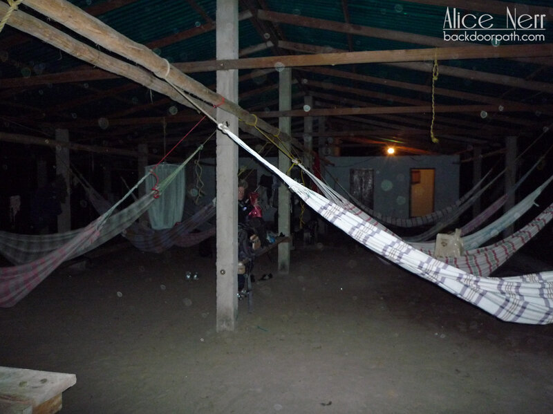 Лагерь напротив Анхеля