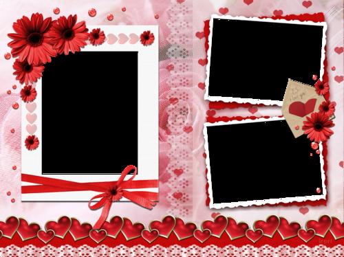 Marcos de fotos para el dia del amor