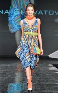 Стильное вязаное платье от Шанель. Вязание 20