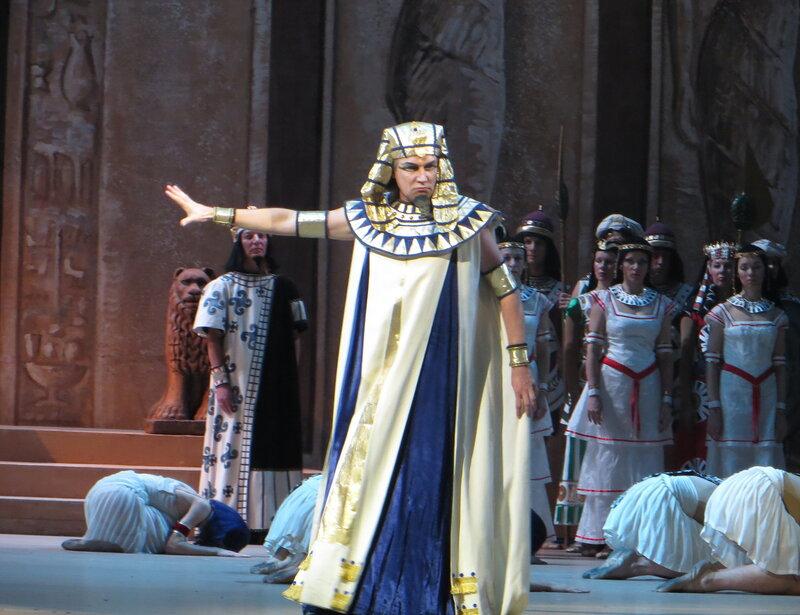 Андрей Ситников в костюме Фараона, билеты дочь фараона