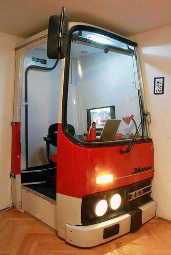 Офис из автобуса 3