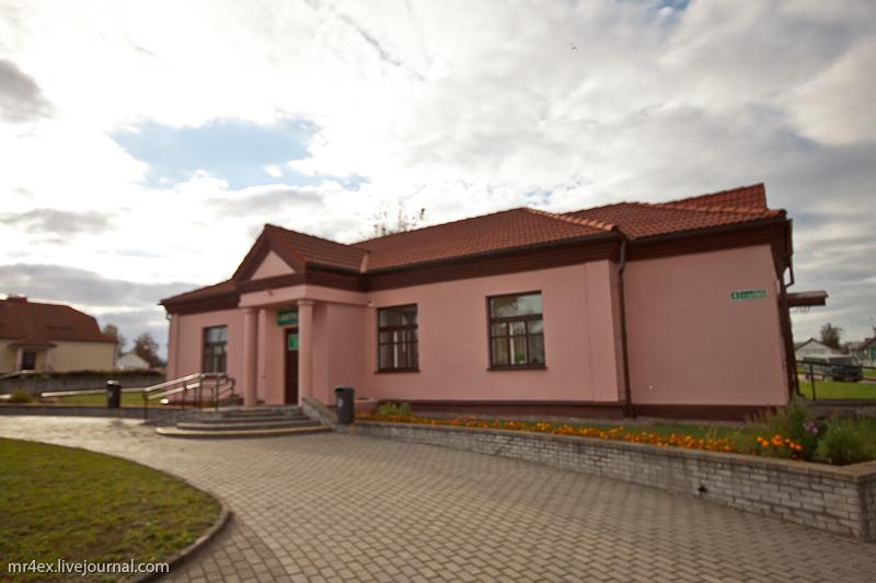 Архитектура поселка Мир