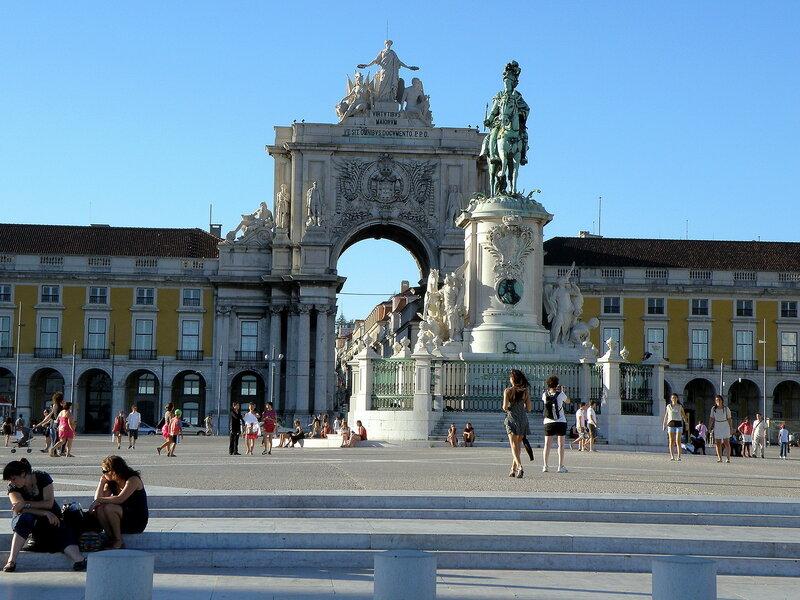 Португалия. Площадь коммерции