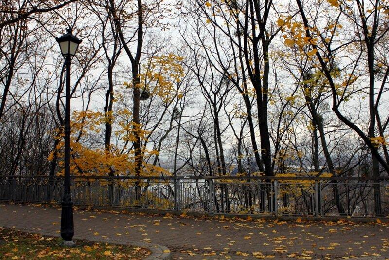 Верхняя терраса Хрещатого парка