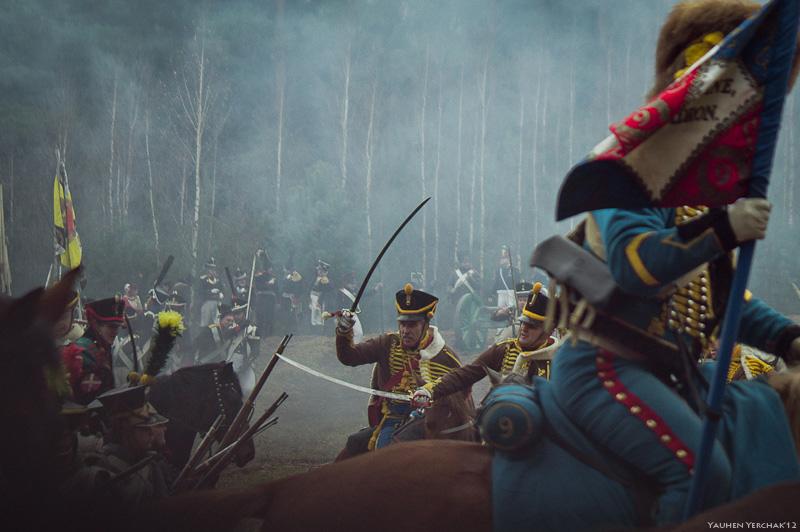 Реконструкция битвы на Березине, 200th anniversary of the battle of Berezina,Napoleon, Наполеон, фото, photo