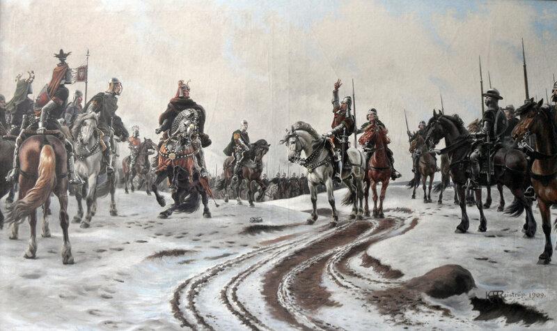 Карл Ганзен Рейструп. «Нильс Эббесен отвергает подчинение Герхарду III, графу Гольштейн-Рендсбургскому. 1340»