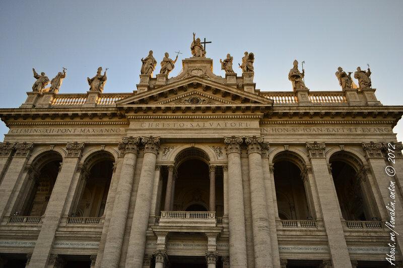 Италия 2012 - Рим - Колизей и Римский Форум