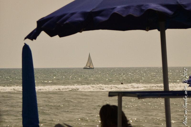 Италия 2012 - Рим - пляж