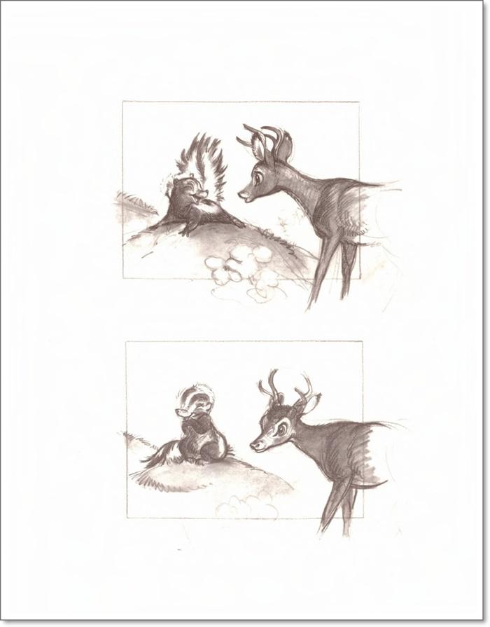 Рисуем животных sketchbook
