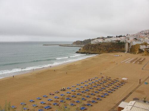 После ливня. Пляж Альбуфейра.