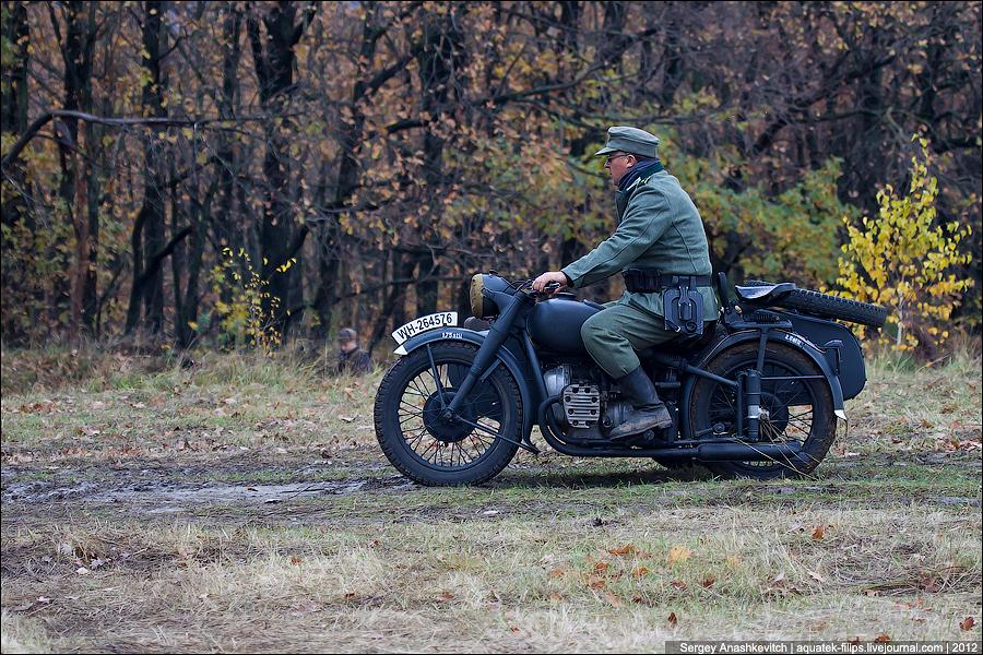 Осень 43 года. Немцы под Киевом