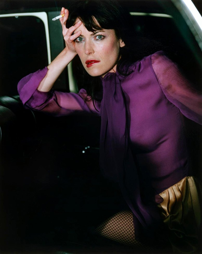 smoking Lara Flynn Boyle / Лара Флинн Бойл с сигаретой