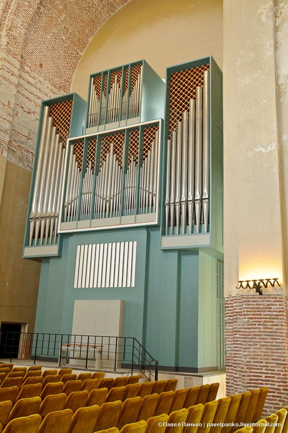 панько pavelpanko Пицунда храм собор орган