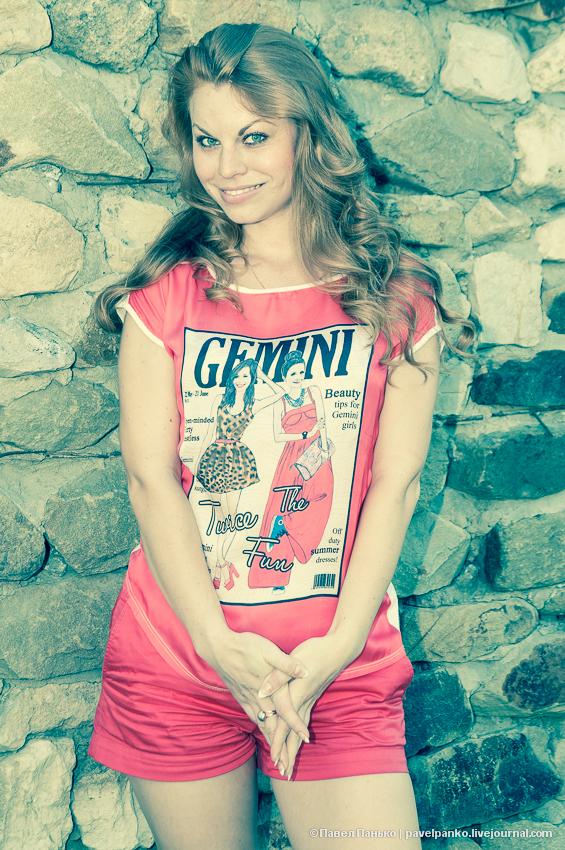 панько pavelpanko девушка улыбка рыжая шатенка