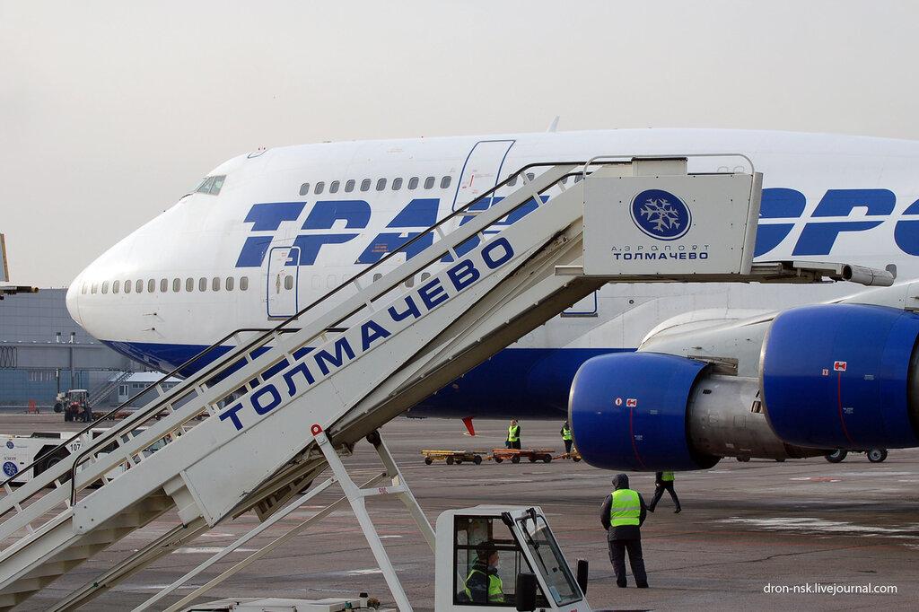 Новые рейсы из Толмачево  Ту-204 1efb238e7150f