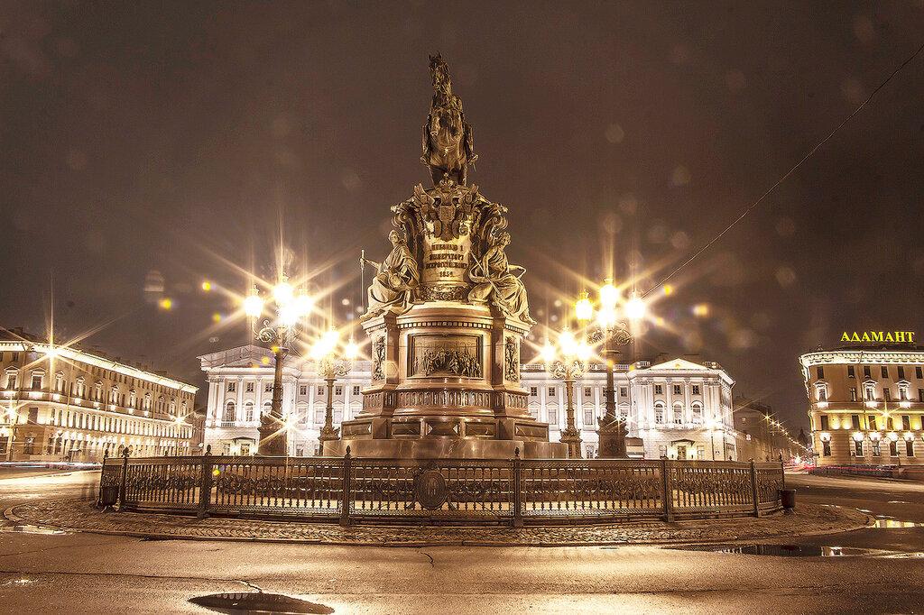 Санкт-Петербург,Ноябрь.Осень.Вечер