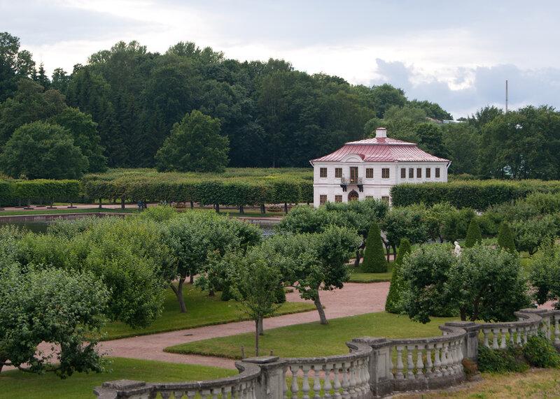 Сады Вены. Дворец
