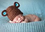 Дизайнерские вязанные изделия для новорожденных.