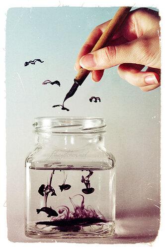 Создай свой мир сам.