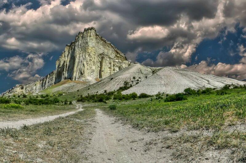 Дорога к Белой скале.