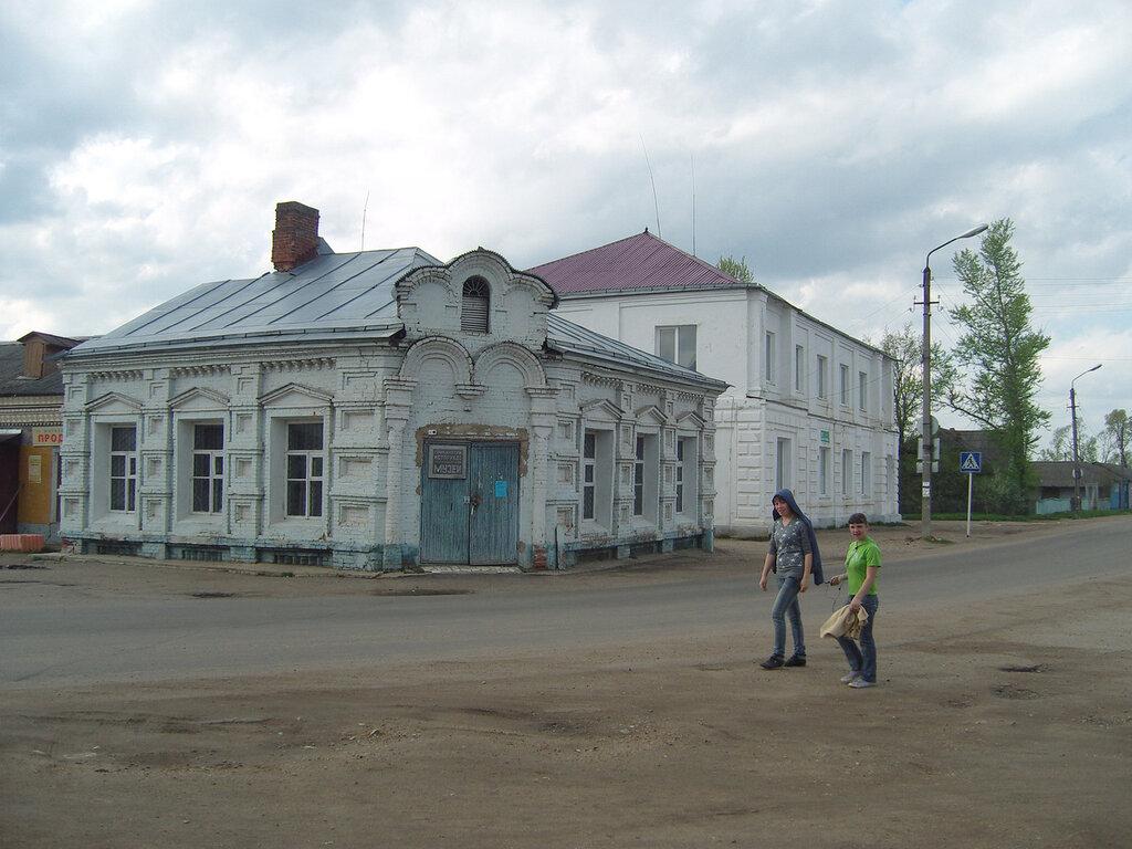Темкино. Историко-краеведческий музей. Работал ли - хз